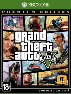Grand Theft Auto V. Premium Edition [Xbox One, русские субтитры] Take 2 Interactive