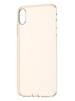 Чехол Baseus Simplicity Series (dust-free) For iPhone XR 6.1 inch Transparent Gold BASEUS