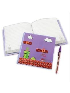 Тетрадь Super Mario Bros 3D Motion Notebook (CDU 12) PP2928NN Paladone