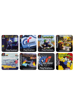 Подставки под напитки Playstation Game Coasters PP4136PS Paladone
