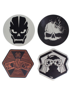 Подставки под напитки Call of Duty Tin Coasters PP4077COD Paladone