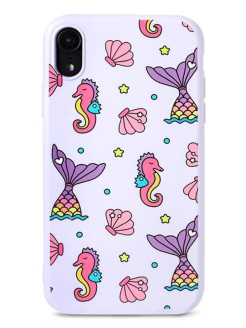 Чехол для iPhone XR Little mix silicone case Pastila