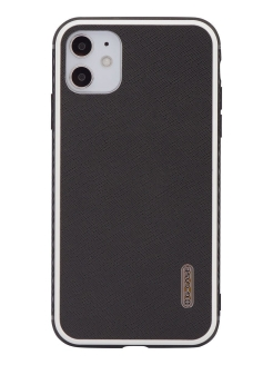Чехол IPhone 11 Monte Carlo Series Genuine Leather G-Case-Phone