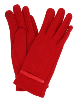 Gloves female for touchscreens demi-season (warmed) 1Azaliya