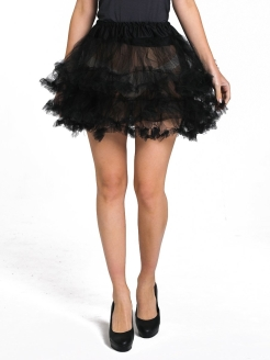 The petticoat is black ВКОСТЮМЕ