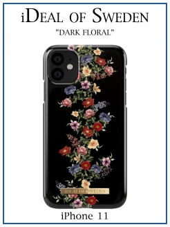 IDeal of Sweden Case for iPhone 11 Dark Floral (IDFCAW18-I1961-97) IDEAL