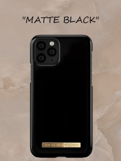 IDeal of Sweden Case for iPhone 11 Matte Black (IDFC-I1961-28) IDEAL