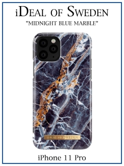 IDeal of Sweden Case for iPhone 11 Pro Midnigth Marble (IDFCS17-I1958-66) IDEAL