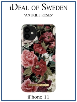 IDeal of Sweden Case for iPhone 11 Antique Roses (IDFCS17-I1961-63) IDEAL