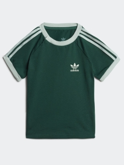 Футболка  3STRIPES TEECGREEN/VAPGRN adidas