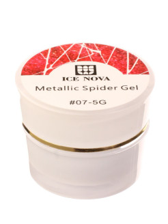 Гель лаки Spider gel 07 ICE NOVA