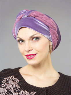 Turbans, polyester Lak Miss