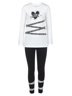Set for girls: longsleeve and leggings M&DCollection