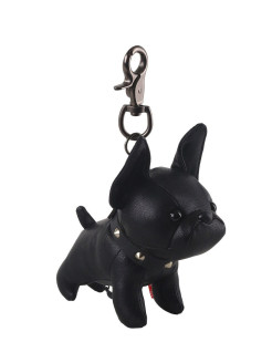 Keychain bulldog White Moose