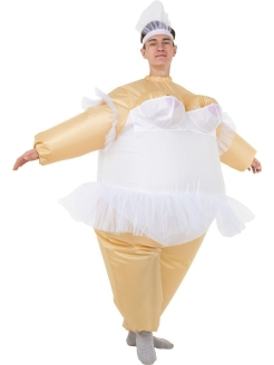 "Inflatable costume ""Ballerina"" ПраздникСнаб"