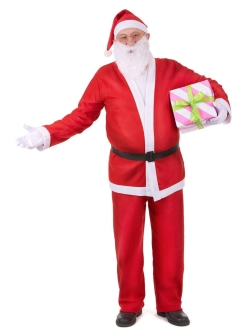 Santa Claus costume with fur trim Rabizy