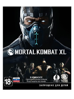 Mortal Kombat XL [Xbox One, русские субтитры] WB Interactive
