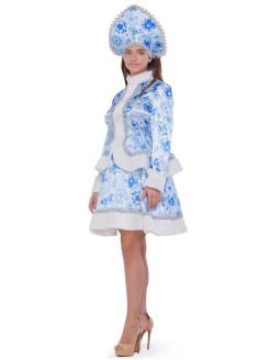 New Year's Snow Maiden Costume ВКОСТЮМЕ