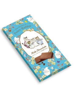 Молочный шоколад Bar Milk Cat (КОТЯТА) 100г Peter Rabbit