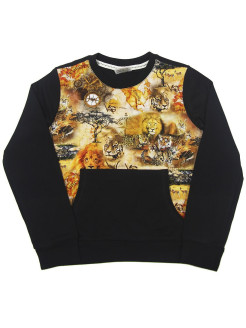 Sweatshirt (sweater) for children for a boy and a girl with a picture VAGR-RG